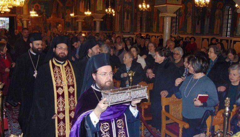 Ο Βόλος υποδέχθηκε Λείψανο του Αγίου Σπυρίδωνος (ΦΩΤΟ)
