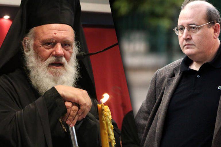 """Φίλης για Αρχιεπίσκοπο Ιερώνυμο: """"Πρακτικά δικής του συγγραφής και εμπνεύσεως"""""""