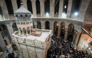 ΕΜΠ: «O Tάφος του Ιησού βρίσκεται στα πρόθυρα καταστροφικής κατάρρευσης»