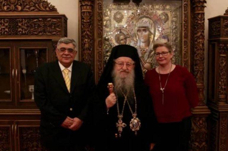 Στον Μητροπολίτη Θεσσαλονίκης ο Νίκος Μιχαλολιάκος (ΦΩΤΟ)