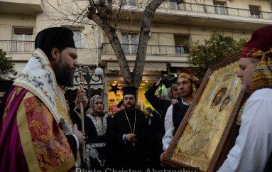 Υποδοχή της Ιεράς Εικόνος Παναγίας «Βηματάρισσας» στην Ι. Μ. Νέας Ιωνίας (ΦΩΤΟ)
