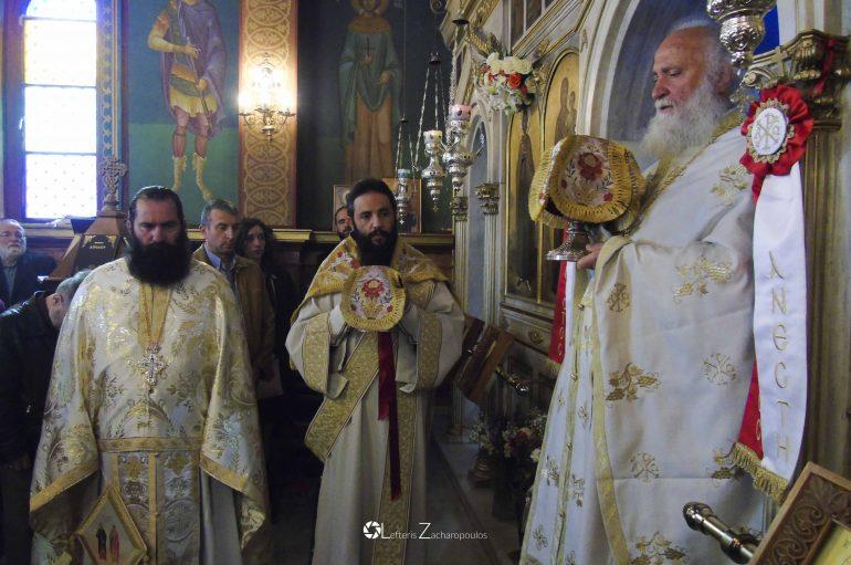 Εόρτασε ο Άγιος Νεομάρτυς Δημήτριος πολιούχος Τριπόλεως (ΦΩΤΟ)