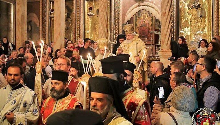 Η εορτή της Αναστάσεως στο Πατριαρχείο Ιεροσολύμων (ΦΩΤΟ-ΒΙΝΤΕΟ)