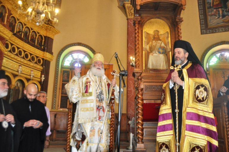 Ενθρόνιση νέου Καθηγουμένου στην Ι. Μ. Αγίου Γεωργίου Παλαιού Καΐρου (ΦΩΤΟ)