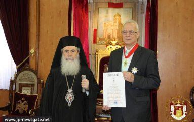 Ο Πατριάρχης Ιεροσολύμων παρασημοφόρησε τον Πρέσβη της Ουγγαρίας (ΦΩΤΟ-ΒΙΝΤΕΟ)