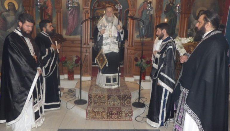 Προηγιασμένη Θεία Λειτουργία στην Ι. Μητρόπολη Κορίνθου (ΦΩΤΟ)