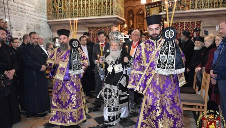 Η Τελετή του Επιταφίου στο Πατριαρχείο Ιεροσολύμων (ΦΩΤΟ-ΒΙΝΤΕΟ)