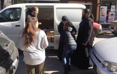 Η Ι. Μονή Μαλεβής ενισχύει το «Καλάθι του Πτωχού Αδελφού»  (ΦΩΤΟ)