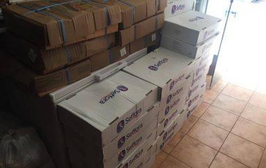 Ανθρωπιστική βοήθεια από την Εκκλησία της Κύπρου στην Ι. Μ. Μαντινείας (ΦΩΤΟ)