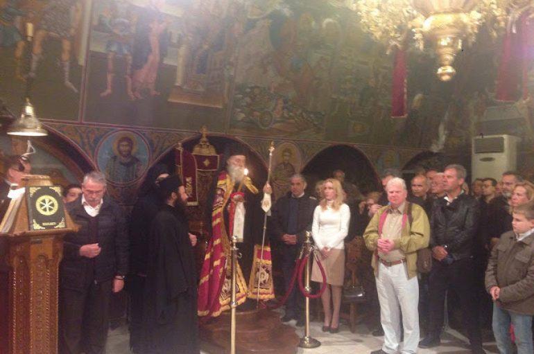 Αρχιερατικός Εσπερινός του Αγίου Γεωργίου στην Ι. Μ. Γλυφάδας (ΦΩΤΟ)