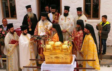 Η εορτή των Αγίων Πέντε Νεομαρτύρων στη Σαμοθράκη (ΦΩΤΟ)