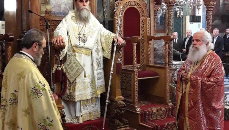 Ο Μητροπολίτης Άρτης στον Ιερό Ναό Αγίου Πέτρου Άργους (ΦΩΤΟ)