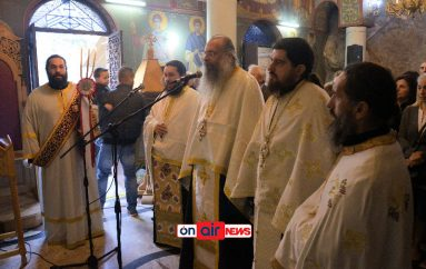Πανηγυρικός Εσπερινός στην Παναγία Ελεούσα της Κλεισούρας( ΦΩΤΟ)