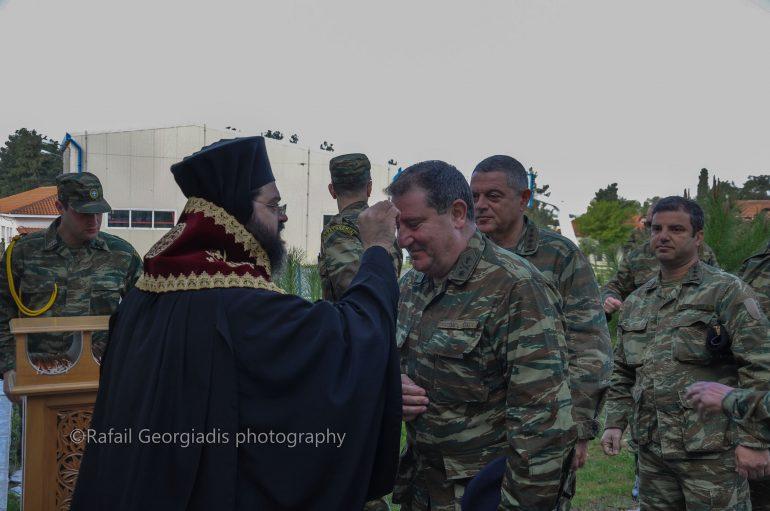 Ιερό Ευχέλαιο στην 29η Ταξιαρχία και στο Γενικό Νοσοκομεῖο Κομοτηνῆς (ΦΩΤΟ)