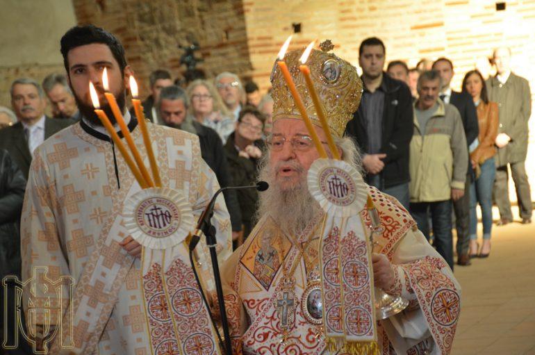 Αρχιερατική Θεία Λειτουργία στο Ναό της Ροτόντα Θεσσαλονίκης (ΦΩΤΟ)