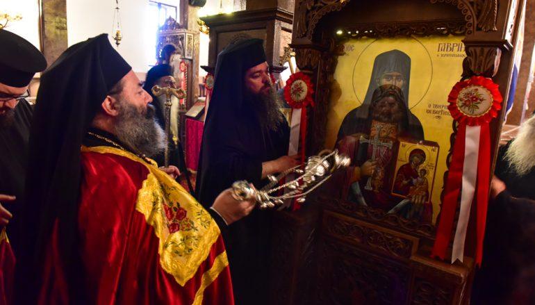 Η Εορτή του Αγ. Γεωργίου και Καθιέρωση της νέας Εικόνας του Οσίου Γαβριήλ του Ιβηρίτου (ΦΩΤΟ)