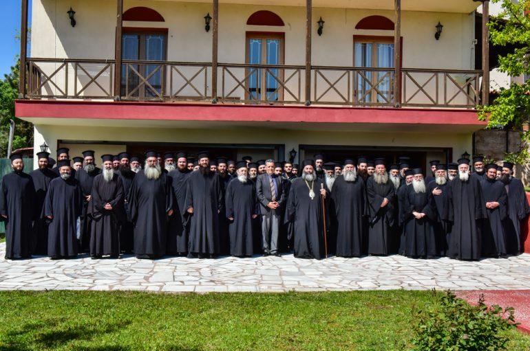 Η΄ Ιερατική Σύναξη Κληρικών Ι. Μητροπόλεως Λαγκαδά (ΦΩΤΟ)