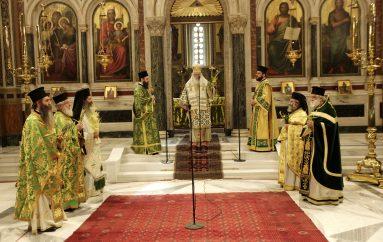 Κυριακή των Βαΐων στον Ιερό Μητροπολιτικό Ναό Αθηνών (ΦΩΤΟ)