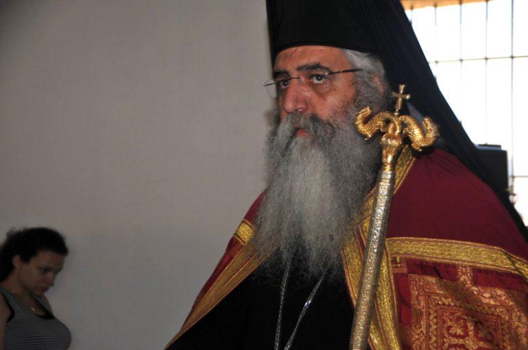 """Μητροπολίτης Μόρφου: """"Μέσα στους αέρηδες τους κρυφούς έχει η Κύπρος το μερτικό της"""""""