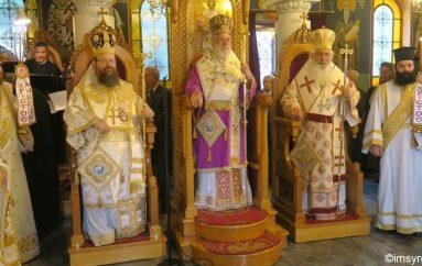 Η Θήβα τίμησε τον προστάτη της Άγιο Ιωάννη τον Κολεκτένη (ΦΩΤΟ)