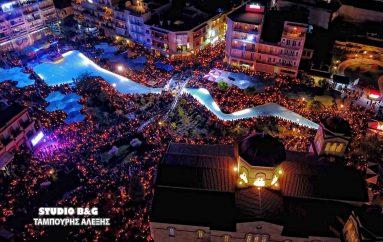 Χιλιάδες πιστοί στην συνάντηση των Επιταφίων στο Άργος (ΦΩΤΟ)