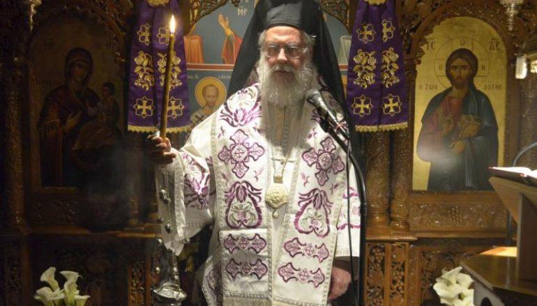 Προηγιασμένη Θ. Λειτουργία στην Ι. Μονή Αγ. Παντελεήμονος Πετρουπόλεως (ΦΩΤΟ)