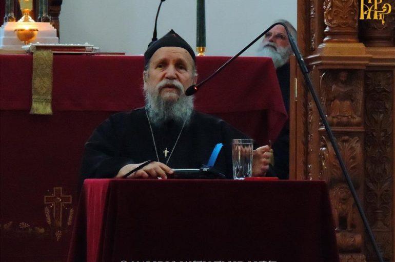 Ο Καθηγούμενος της Συνοδικής Μονής Οσίου Συμεών στην Ι. Μ. Άρτης (ΦΩΤΟ)