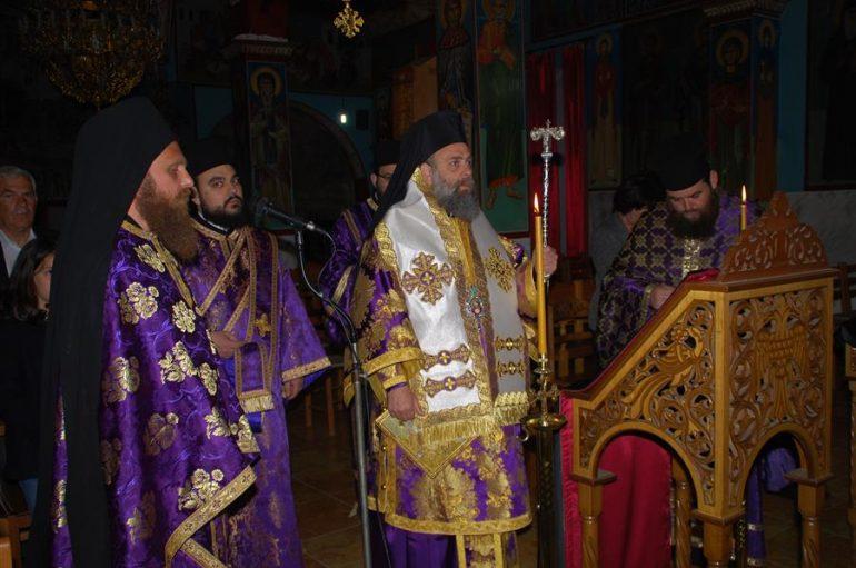 Ο Μητροπολίτης Θεσσαλιώτιδος στην Ι. Μ. Παναγίας Φανερωμένης Καλλιφωνίου (ΦΩΤΟ)