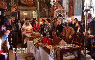 Η εορτή των Αγίων Ραφαήλ, Νικολάου και Ειρήνης στις Μυκήνες (ΦΩΤΟ-ΒΙΝΤΕΟ)