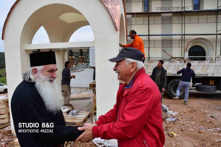 Τοποθετήθηκαν οι Ρώσικες καμπάνες στον Άγιο Λουκά στο Ναύπλιο (ΦΩΤΟ-ΒΙΝΤΕΟ)