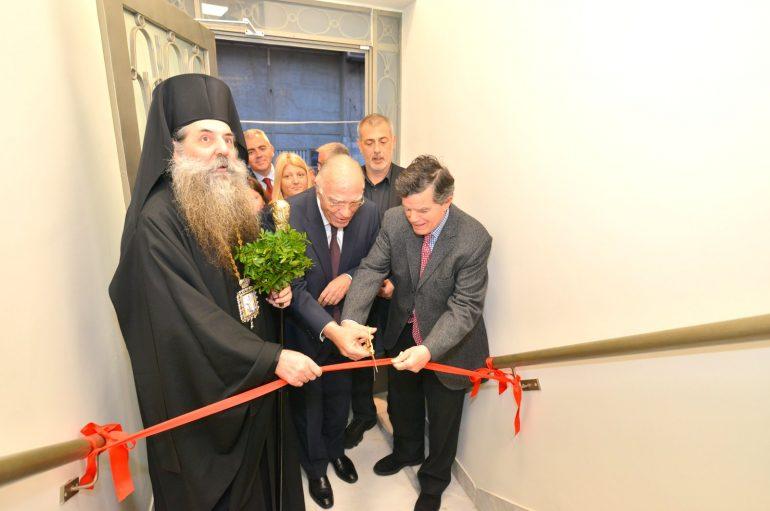 Τελετή εγκαινίων νέων εγκαταστάσεων του Ραδιοφωνικού Σταθμού «Πειραϊκή Εκκλησία» (ΦΩΤΟ)