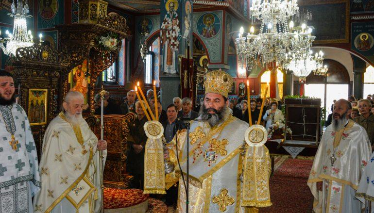 Η εορτή της Παναγίας της Ρευματοκρατούσης στην Γεφύρα Θεσσαλονίκης (ΦΩΤΟ)