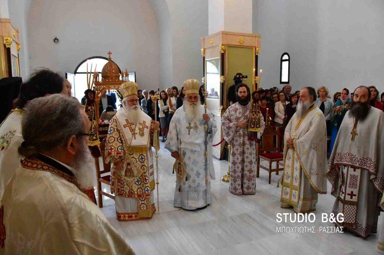 Δισαρχιερατική Θεία Λειτουργία στον Ι. Ν. Αγίου Λουκά στα Λευκάκια Ναυπλίου (ΦΩΤΟ-ΒΙΝΤΕΟ)