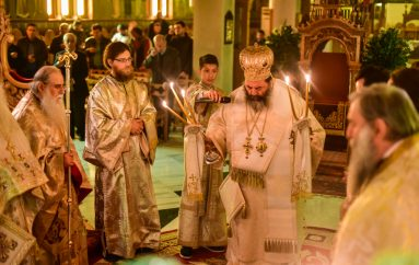Αρχιερατική Θ. Λειτουργία επί τη εορτή του Αγίου Λαζάρου στην Ι. Μ. Λαγκαδά (ΦΩΤΟ)