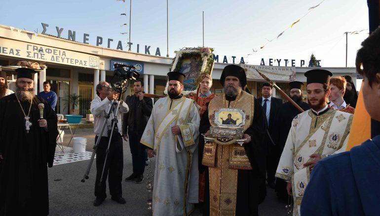 Η Κύπρος υποδέχθηκε λείψανο του Αγίου Γεωργίου του Τροπαιοφόρου (ΦΩΤΟ)