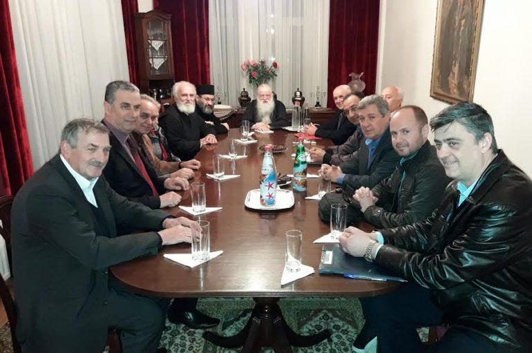 Σύσκεψη στην Ι. Μ. Καλαβρύτων για τον εορτασμό τής Παναγίας Τρυπητής