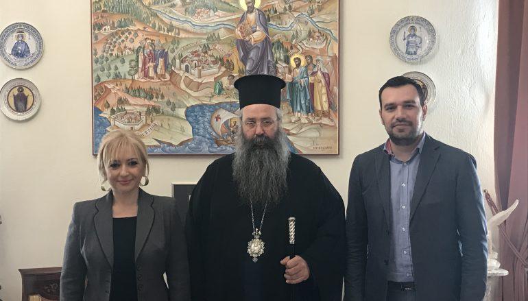 Στο Μητροπολίτη Κίτρους ο Αντιπεριφερειάρχης Πολιτισμού Κεντρ. Μακεδονίας