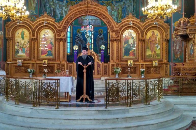 Ομιλία του Αρχιμ. Ιερώνυμου Νικολόπουλου με θέμα: «Παναγία: η ανατροπή»