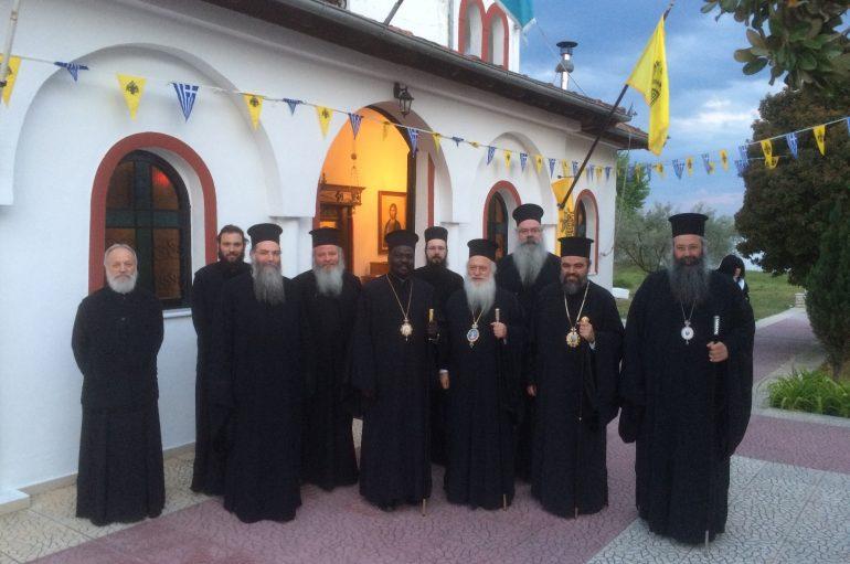 Επίσκεψη Αρχιερέων στην Ι. Μονή Αγίου Γεωργίου Κορινού (ΦΩΤΟ)