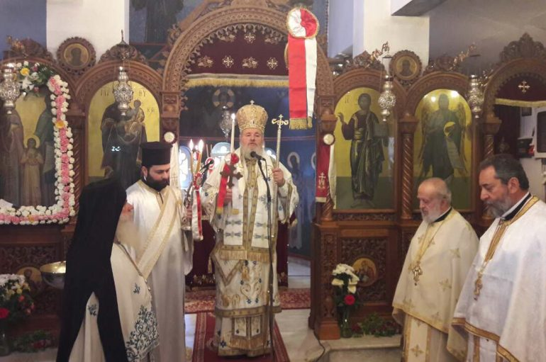 Η εορτή των Αγίων Ραφαήλ, Νικολάου και Ειρήνης στα Χανιά (ΦΩΤΟ)