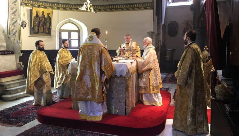 Αρχιερατικό συλλείτουργο στον Πατριαρχικό Ι. Ν. Αγ. Γεωργίου στο Φανάρι (ΦΩΤΟ)