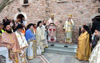 Ποιμαντική επίσκεψη του Μητροπολίτη Χαλκίδος στην Βόρεια Εύβοια (ΦΩΤΟ)