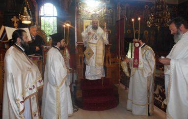 Η πρώτη Ανάσταση στην Ι. Μητρόπολη Θεσσαλιώτιδος (ΦΩΤΟ)