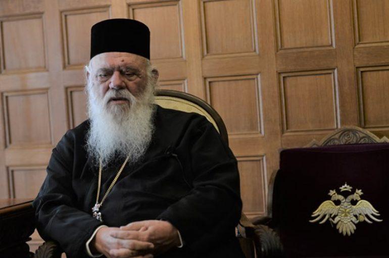 Ο Αρχιεπίσκοπος Ιερώνυμος μιλά στο Πρώτο Θέμα για όλους και για όλα