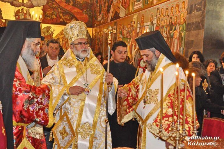 Ο Εορτασμός του Οσίου Σάββα του εν Καλύμνω στην Ι. Μ. Λέρου (ΦΩΤΟ-ΒΙΝΤΕΟ)
