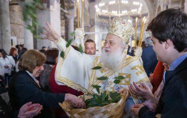 Η «πρώτη Ανάσταση» στην Ι. Μητρόπολη Βεροίας (ΦΩΤΟ)