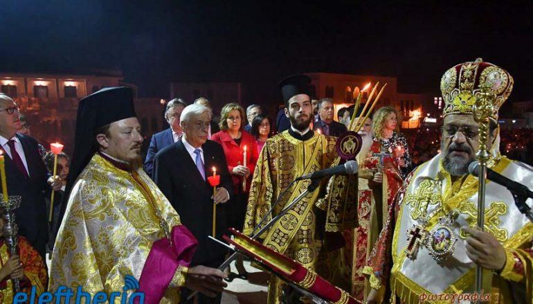 Παρουσία του ΠτΔ η Ανάσταση στην Καλαμάτα (ΦΩΤΟ)