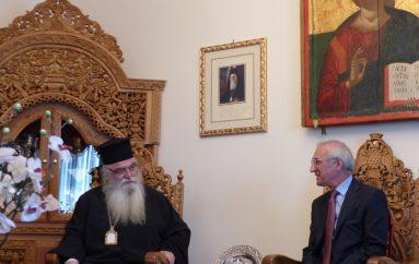 Ο Γενικός Πρόξενος της Ρωσίας στον Μητροπολίτη Καστορίας (ΦΩΤΟ)