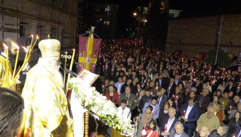 Η Ανάσταση του Χριστού στην Καστοριά (ΦΩΤΟ)