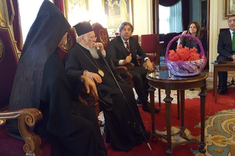 Ο Οικ. Πατριάρχης στο Αρμένικο Πατριαρχείο της Πόλης (ΦΩΤΟ)